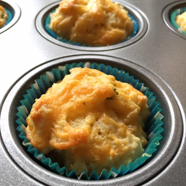 cheddar, green onion, + buttermilk muffins via she likes to eat